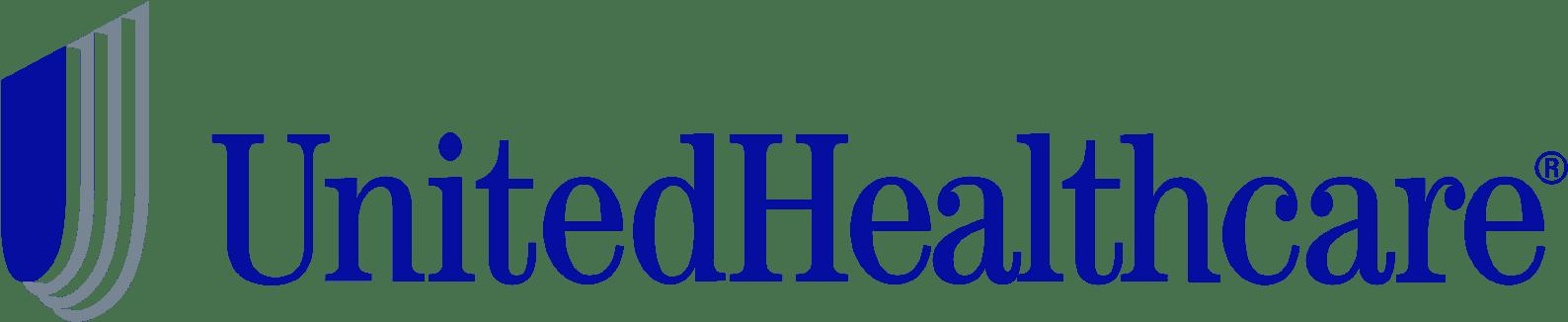 united healthcare logo on blue background