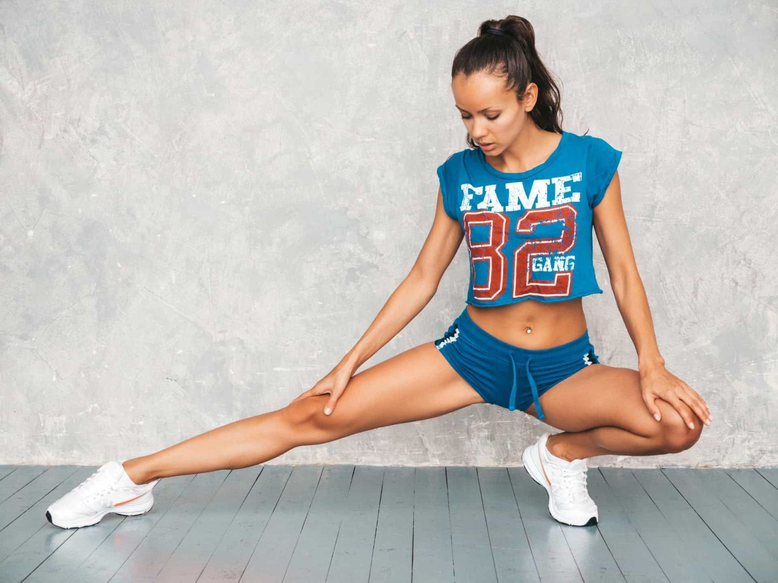 Fit Female Stretching